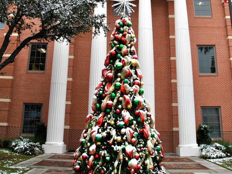 Christmastime in Katy: Holiday Home Tours and Fire Truck Santa Visits