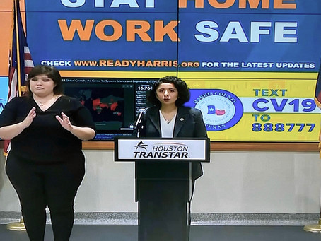 Harris County Judge Prioritizes Human Lives with 'Stay Home Work Safe' Order