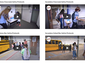 Newly Released Katy ISD Videos Demonstrate Bus and Classroom Safety Protocols