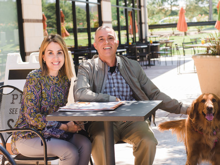 Patio Dining in Katy with Your Dog