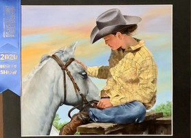 Katy ISD Students Impress with Houston Rodeo Grand Prix Art Placements