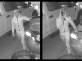 Man Caught on Camera Pointing Gun at Katy Home