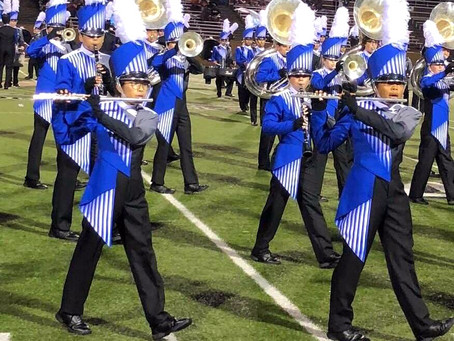 HS Bands from Katy Compete at Regional Championships at Legacy This Saturday