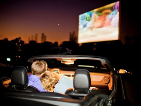 Katy's Paetow HS Creates Drive-in Theatre for Upcoming Shows