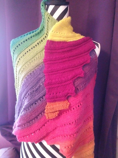 Rainbow Shawl/Scarf
