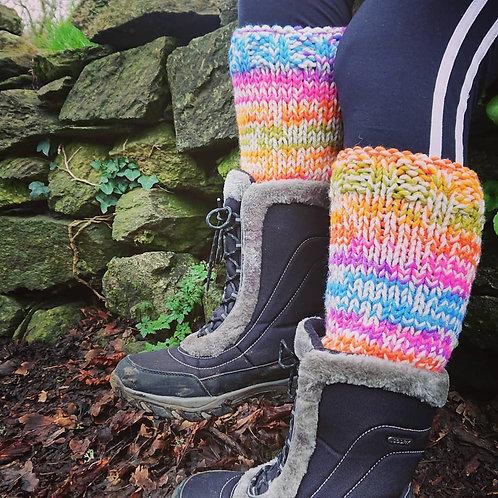 chunky leg warmers