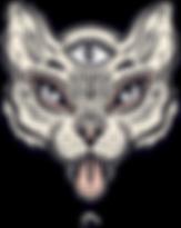 Кошка с третьим глазом