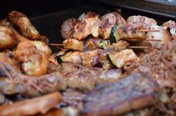 Fleisch frisch vom Grill