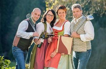 Familie Scheibl und Pieber