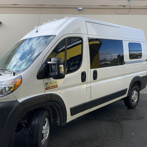 20 Dodge Ram 1500 ProMaster full car