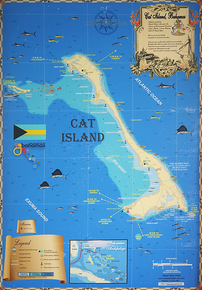 Map Cat Island