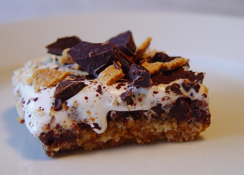S'mores Bars inspired by The Girl Scout 1927 Handbook