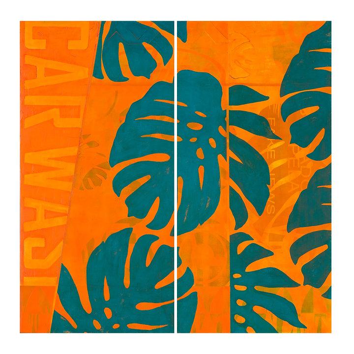 'Orange Car Wash / Lava Jato  Richard HoeyLaranja' 20