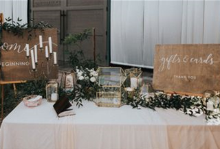 Why not add some cute signs by your gift table?!