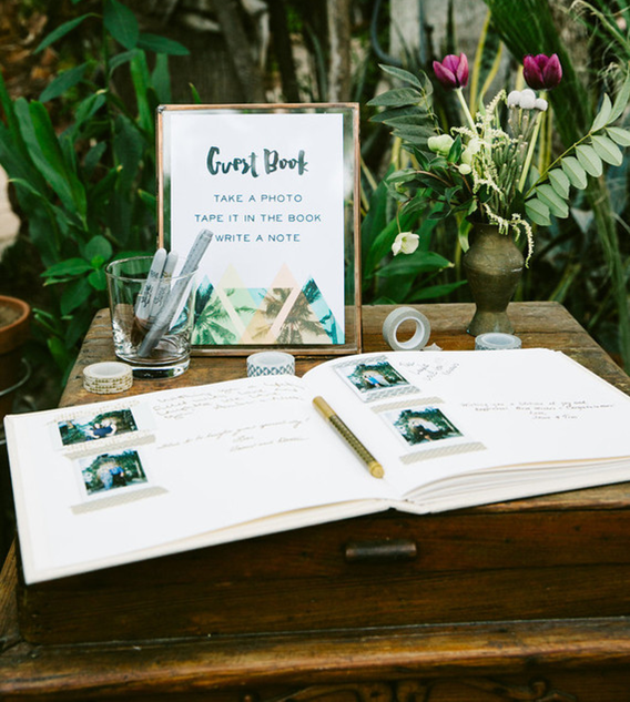 How cute is this greenery?!