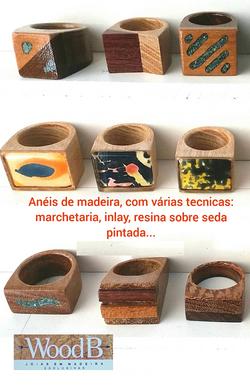 ANEIS DE MADEIRA