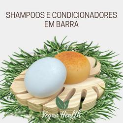 SHAMPOOS E CONDICIONADORES EM BARRA