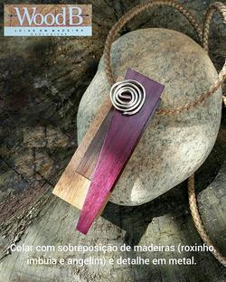 COLAR SOBREPOSICAO DE MADEIRAS