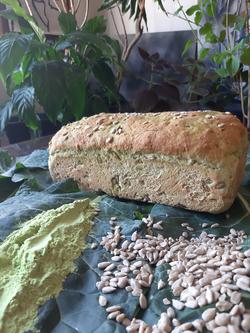 Pão de Couve com Sementes de Girassol e