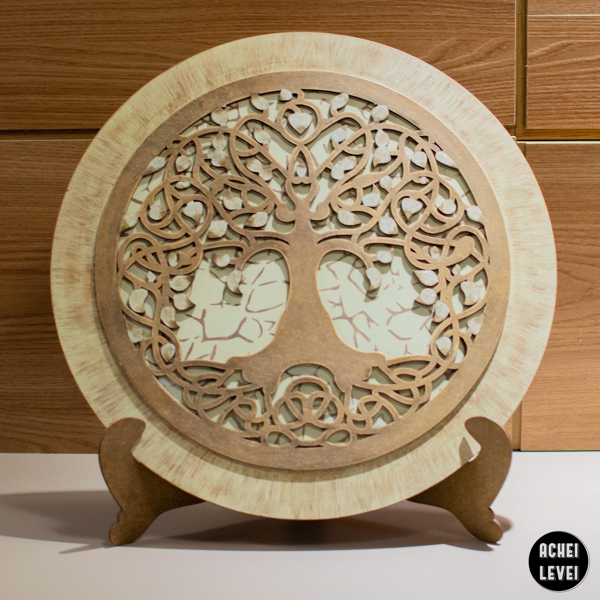 Mandala Árvor e vida