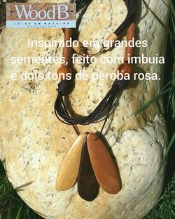COLAR INSPIRADO EM GRANDES SEMENTES FEIT
