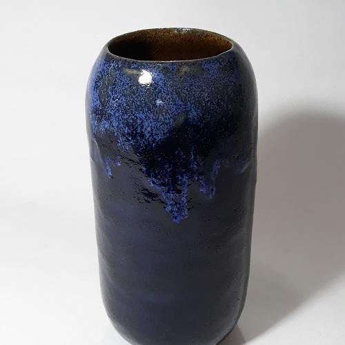 Vaso Preto e Azul