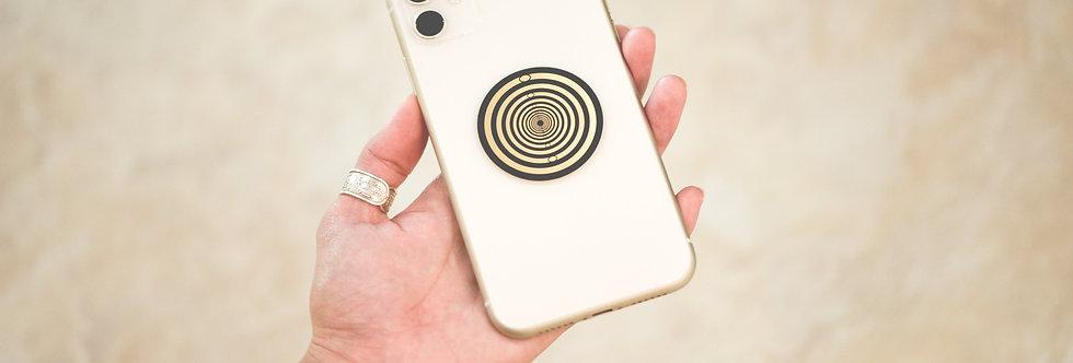 BioArc Disc Phone Sticker