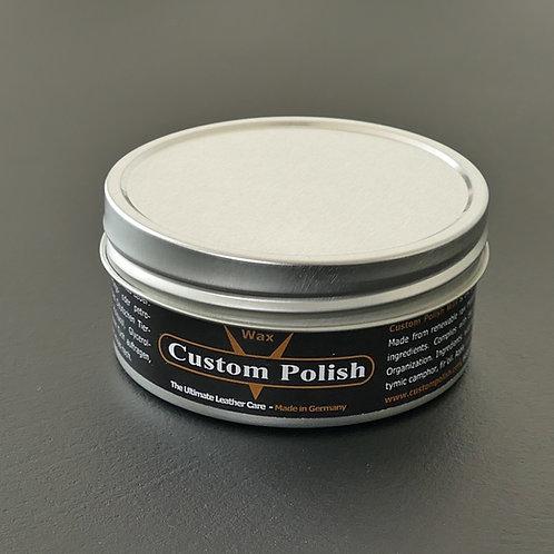 CUSTOM POLISH WAX 150 ml - (6,60€/100ml) Lederwachs, Lederpolitur, Lederpflege