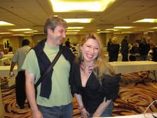 Mike Leyla laughing.JPG