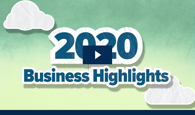 2020 Business Highlights