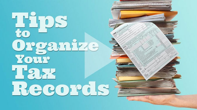 Tips to organize tax records
