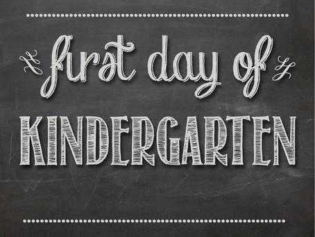 Tips for Starting Kindergarten
