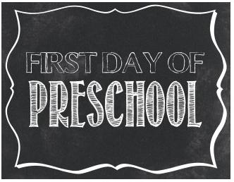 Tips for Starting Pre-School