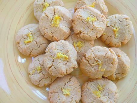 Vegan Gluten-Free Zesty Lemon Cookies!