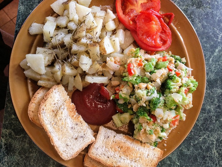 Cooked Vegan Breakfast!