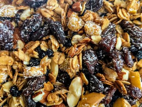 Scrumptious Gluten Free Granola