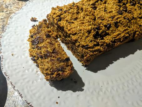 Vegan GF Pumpkin Spice Loaf