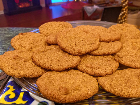 Holiday Vegan GF Ginger Cookies!