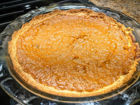 Homemade Vegan Pumpkin Pie