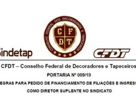 SEJA UM DIRETOR DO SINDICATO DOS DECORADORES E TAPECEIROS DO RIO GRANDE DO SUL