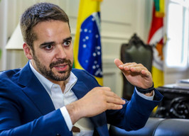 GOVERNADOR DO RIO GRANDE DO SUL, EDUARDO LEITE, TOMA CIÊNCIA DO ELO SOCIAL.