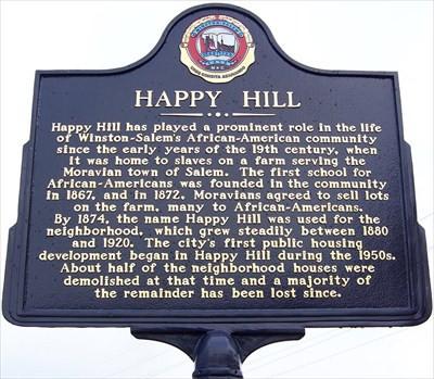 Happy Hill Marker