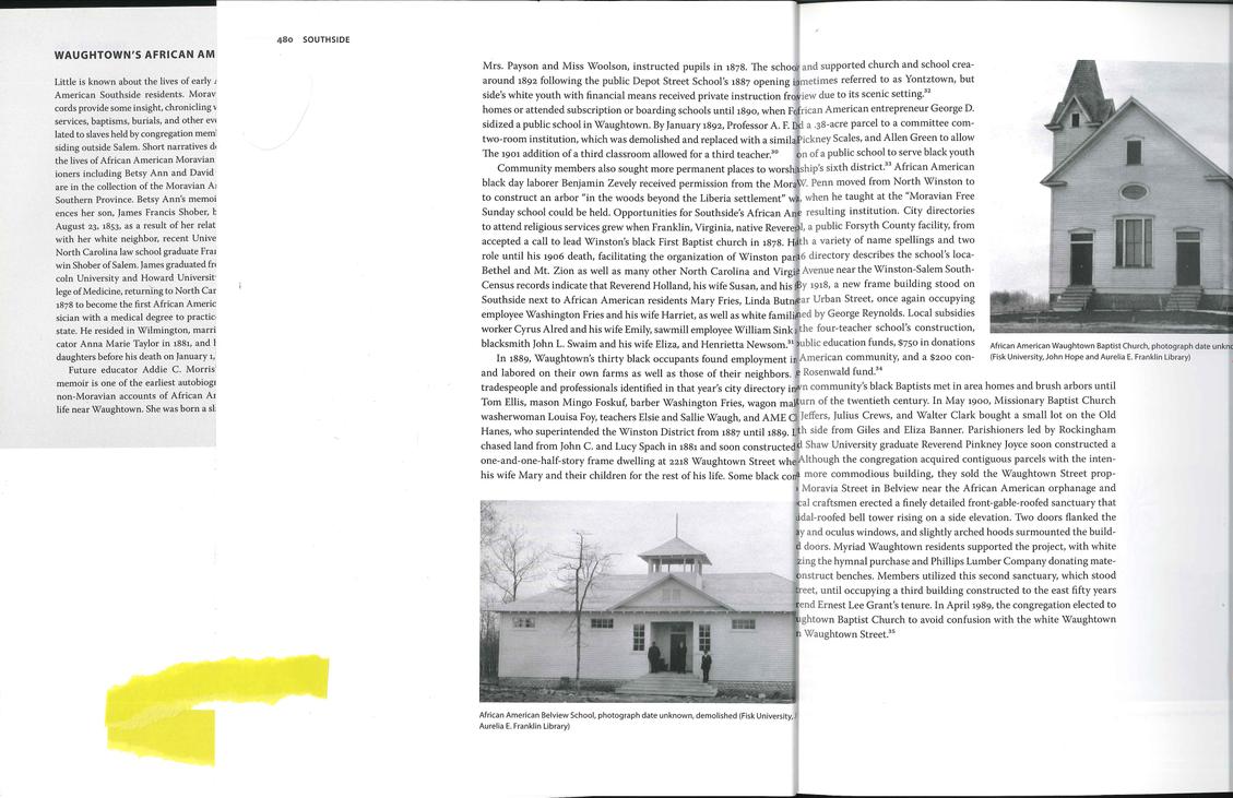 Winston-Salem Architectural Research