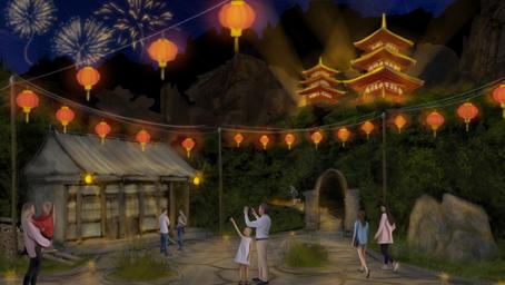 Pavilion Concept Painting