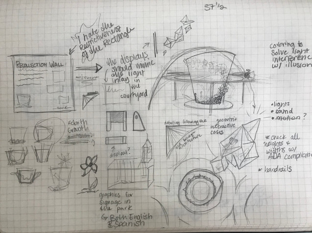 Early Sketch Concept Work