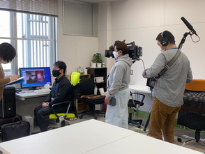 《メディア情報》NHK岡山放送局さまより取材を受けました!