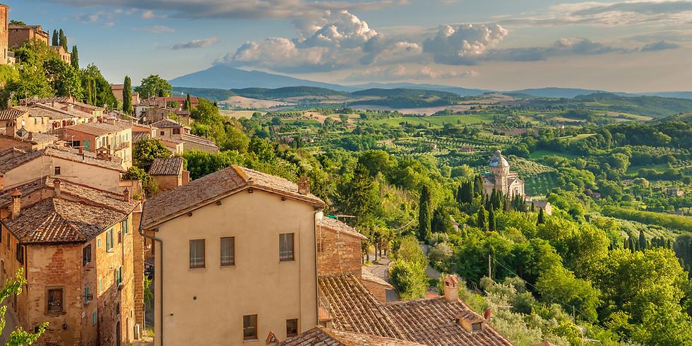 Passeio pelo Sul da Itália