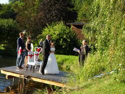 Hochzeitszeremonie gestartet