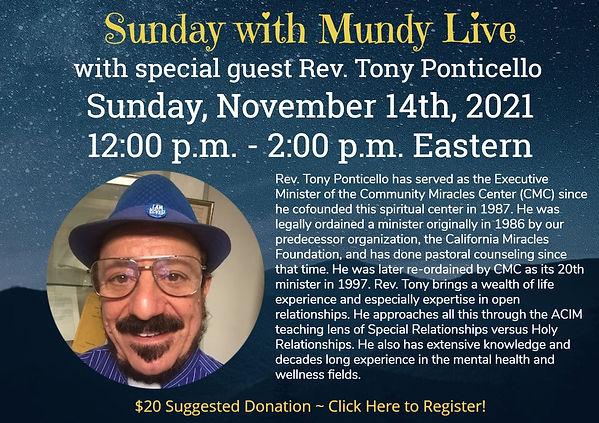 Sunday Live with Tony Ponticello Nov 14 2021 for website and cc.jpg