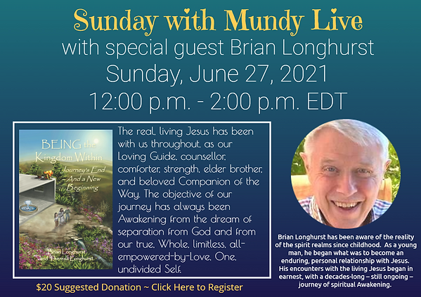 Sunday Live with Brian Longhurst for cc